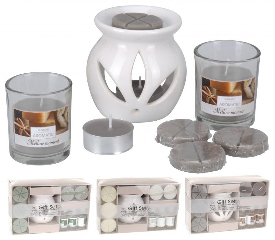 Dárkové balení - aroma set s lampičkou