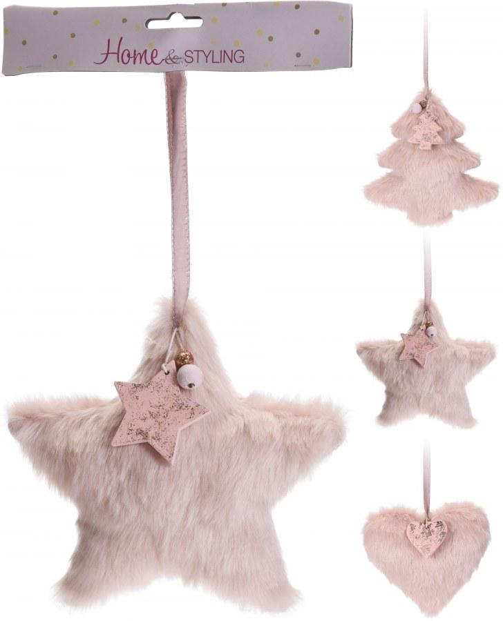 Vánoční odzoba - kožešinka - 18CM