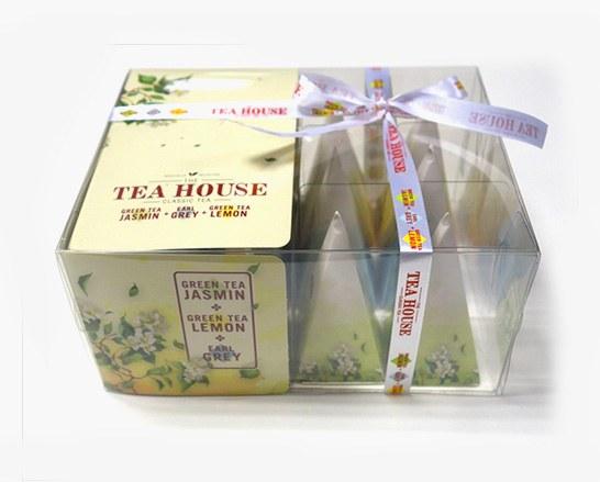 Dárkové balení čajů pyramida - 12ks