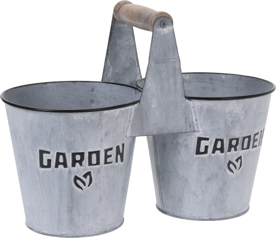 Dvojkvětináč GARDEN