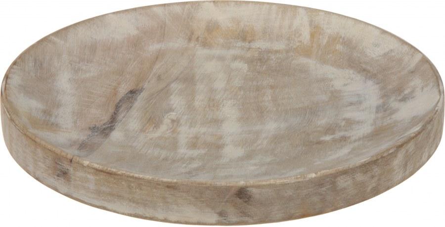 Dřevěný talíř - 22CM