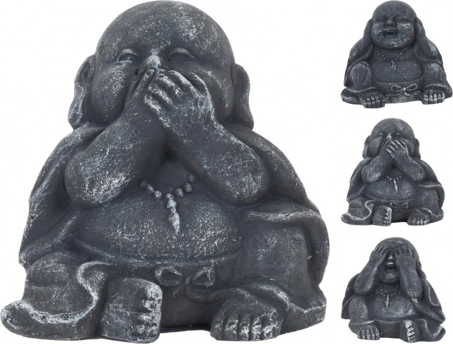 Buddha - neslyším, nemluvím, nevidím