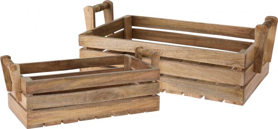 Bedna z mangového dřeva