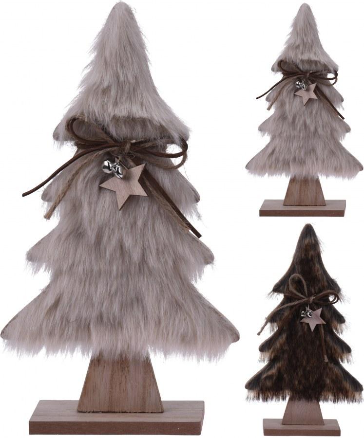 Vánoční stromeček s kožešinou