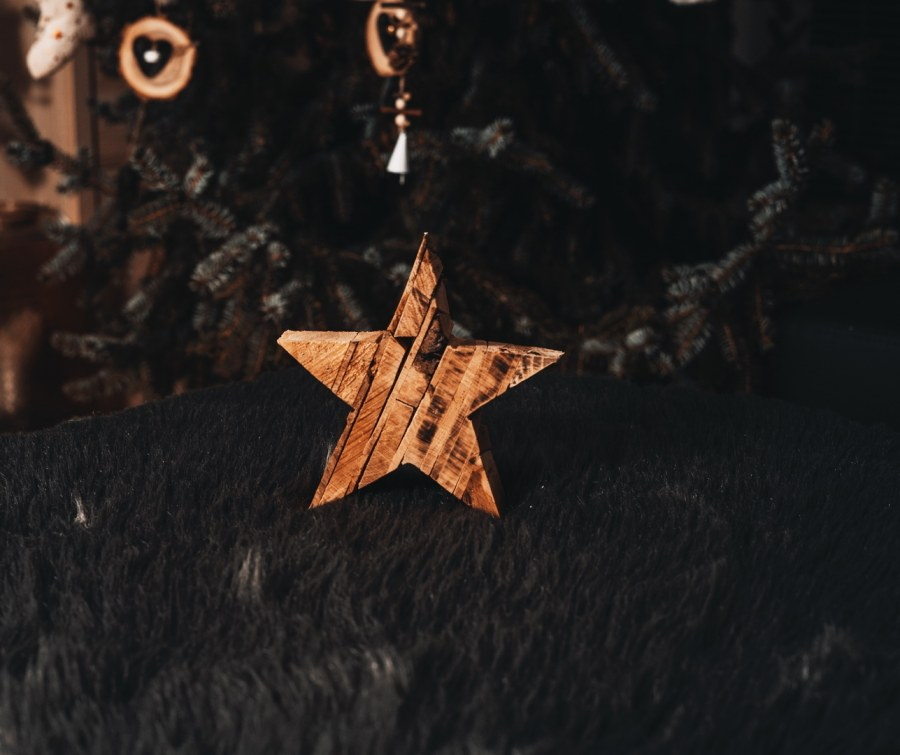 Lisovaná hvězda - 15CM