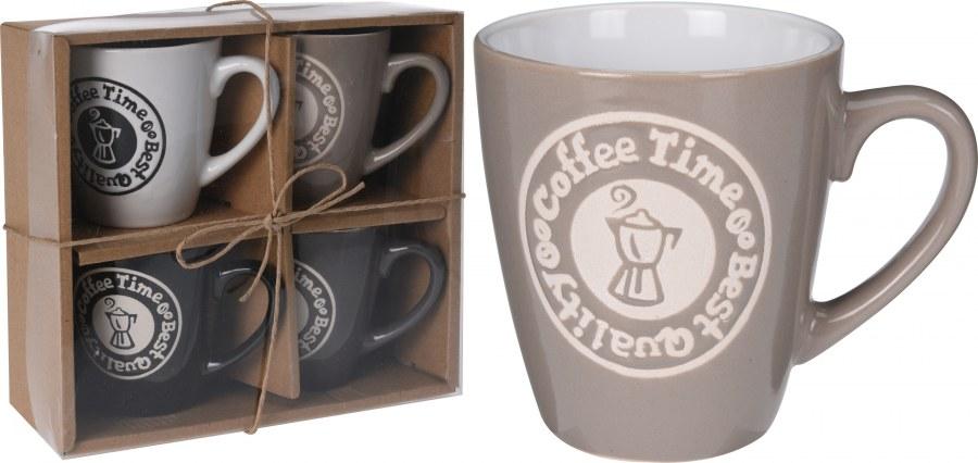 Čas na kávu - 4 hrníčky