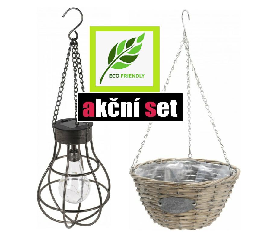 Výhodný a ekologický set závěsných dekorací