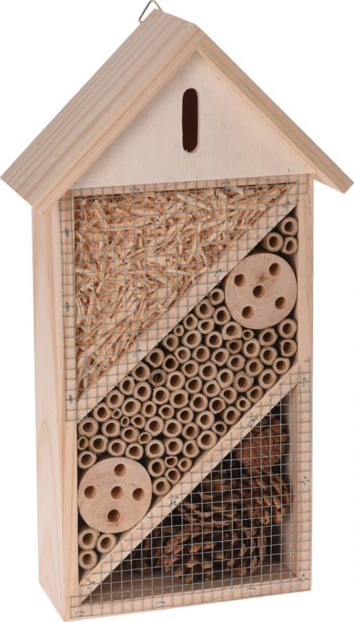 Dřevěný hotel pro hmyz