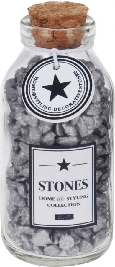 Dekorační kameny v lahvičce