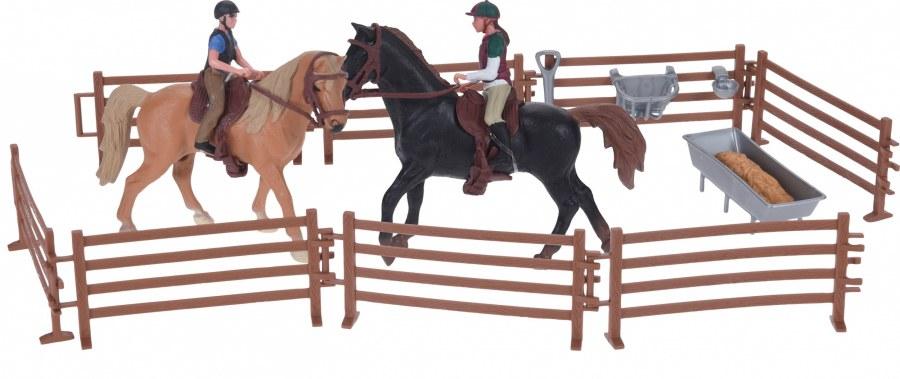 Koňská farma pro mladé jezdkyně