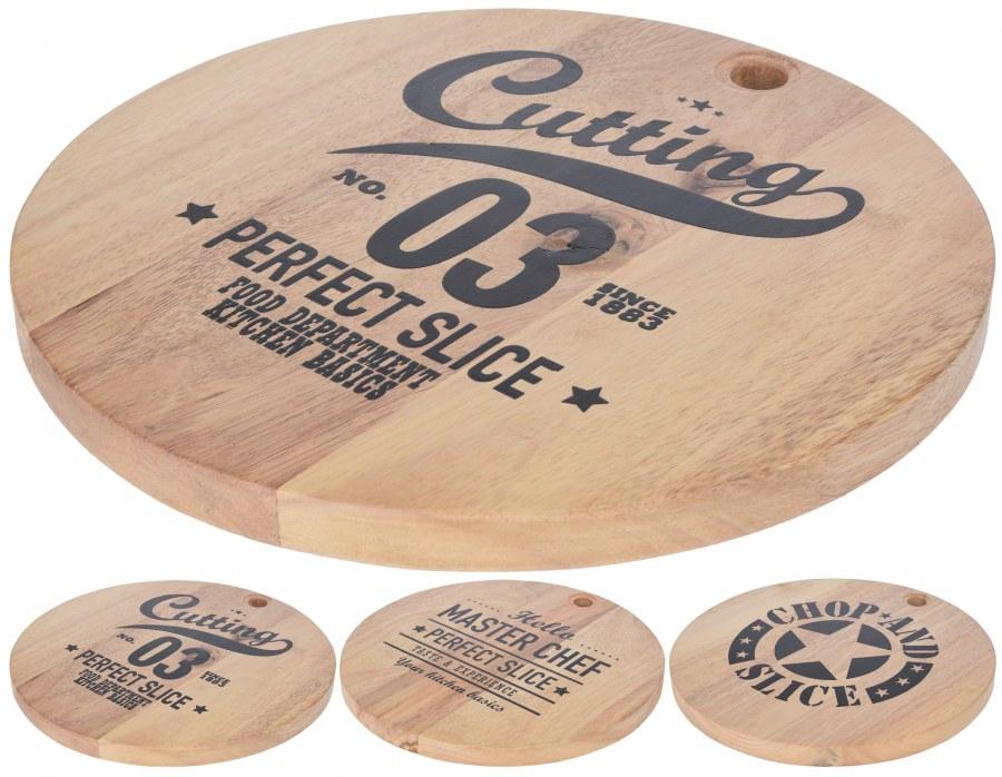 Krájecí prkénko dřevěné s nápisem