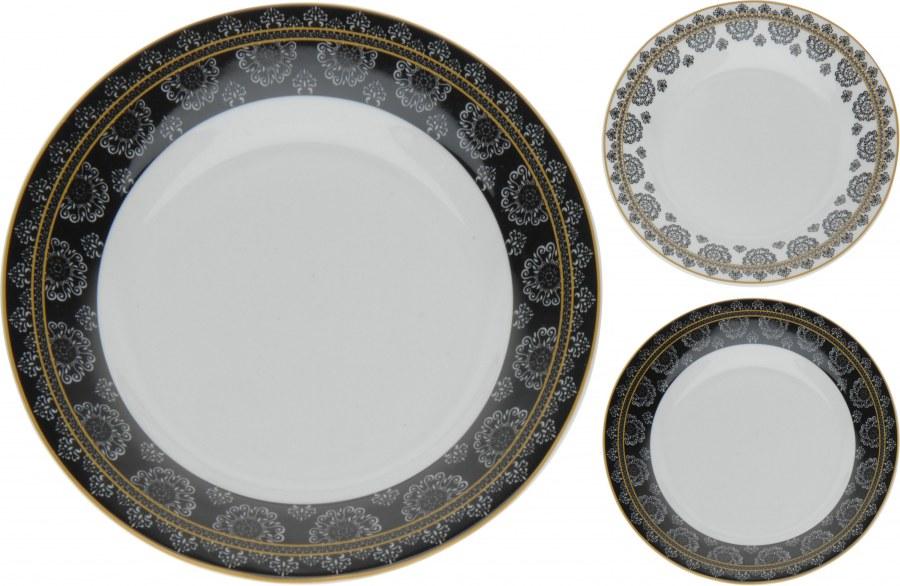 Porcelánový talíř se vzorem